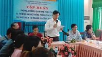 Sở Giáo dục Quảng Ngãi lần đầu tổ chức hội nghị trực tuyến phòng chống thiên tai