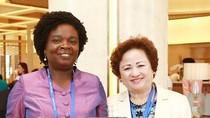 Chủ tịch tập đoàn BRG tiếp thân mật lãnh đạo Ngân hàng Thế giới bên lề APEC 2017