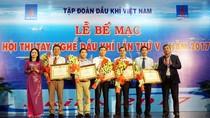 Bế mạc và trao giải Hội thi tay nghề Dầu khí lần thứ V năm 2017