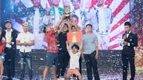 Nhóm Khủng long tí hon giành Quán quân Cười Xuyên Việt – Tiếu lâm hội mùa 2