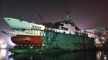 Trung Quốc hạ thủy tàu Hải cảnh-3308, sẽ triển khai ở Biển Đông