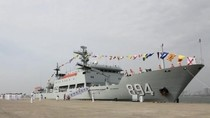 Hải quân Trung Quốc biên chế tàu thử nghiệm tổng hợp mới Lý Tứ Quang