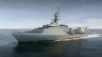 Anh khởi công chế tạo tàu tuần tra ven bờ lớp River đầu tiên