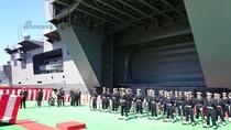 Nhật Bản biên chế tàu sân bay Izumo, sẽ duyệt binh đối trọng Trung Quốc