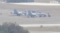 Mỹ cho máy bay F-18 hạ cánh ở Đài Loan với mục đích gì?