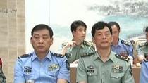 Lưu Đức Vĩ làm chính ủy Không quân Đại quân khu Nam Kinh