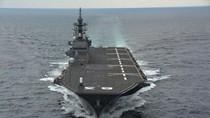 Tàu chiến lớn nhất Nhật Bản dùng để đối phó Hải quân TrungQuốc