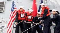 Tư lệnh Hạm đội Thái Bình Dương và tàu khu trục USS Stethem Mỹ thăm Trung Quốc