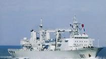 Trung Quốc tăng tốc chế tạo tàu tiếp tế, vừa xuất xưởng siêu tàu Type 901