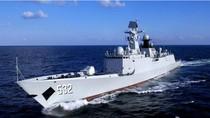 Tàu hộ vệ 054A Trung Quốc vừa bố trí thêm ở biển Hoa Đông vừa tuần tra Biển Đông