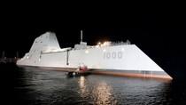 Mỹ sẽ triển khai tàu khu trục Zumwalt ở Hoa Đông và Biển Đông