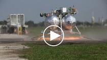 NASA trình diễn nguyên mẫu phương tiện đổ bộ Morpheus Lander