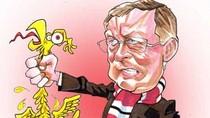 Alex Ferguson - Vĩ nhân của những vĩ nhân (Biếm họa sao bóng đá kỳ 19)