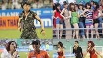 Ảnh phản cảm lượt đi V-League: Những trò lố bịch của Sài Gòn FC
