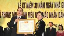 Phó Chủ tịch nước Nguyễn Thị Doan nói về nhiệm vụ của ngành giáo dục