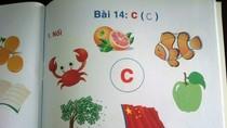 Trần tình của Giám đốc NXB in cờ Trung Quốc trong sách học vần