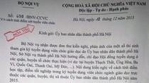 Bộ Nội vụ có công văn hỏa tốc yêu cầu Hà Nội làm rõ cách tính điểm thi viên chức
