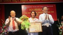 Trường trung cấp Y - Dược Tuệ Tĩnh giành nhiều giải thưởng dạy tốt, học tốt