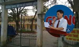 Quế Võ cách chức hiệu trưởng Trường Phương Liễu