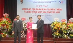 Viện Đào tạo Báo chí và Truyền thông vươn đến mục tiêu đào tạo đạt chuẩn quốc tế