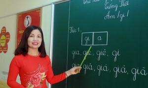 Cô giáo Nguyễn Thị Hằng tận tâm, đầy trách nhiệm với học sinh tiểu học