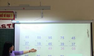 Thi giáo viên giỏi cấp thành phố, nhiều thầy cô tự…rớt