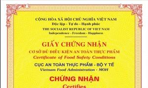 Thu hồi Giấy chứng nhận đủ điều kiện an toàn thực phẩm của BIOLIFE và Việt Đức