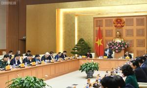 Thủ tướng chủ trì cuộc họp Tiểu bang Kinh tế - Xã hội chuẩn bị Đại hội Đảng XIII