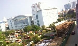Lình xình dự án chung cư cao 19 tầng tại quận Cầu Giấy