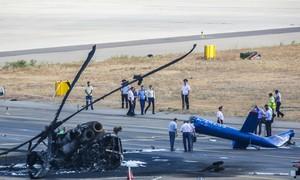 Video: Tai nạn máy bay trực thăng Mi kinh hoàng gần Biển Đen