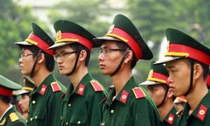 Thông tin tuyển sinh mới nhất khối các trường quân đội
