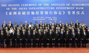 Philippines chưa gia nhập Ngân hàng AIIB vì Biển Đông