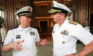 Tham mưu trưởng Hải quân Mỹ coi quan hệ hải quân Trung-Mỹ là hình mẫu