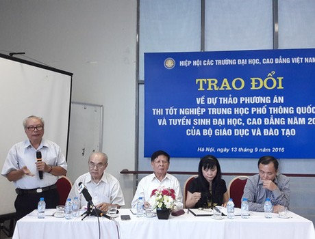 Dấu ấn của Hiệp hội Các trường đại học, cao đẳng Việt Nam trong đổi mới thi cử