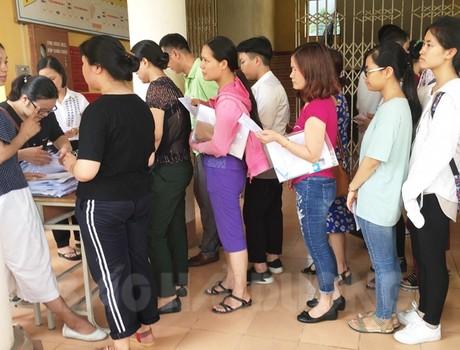 Hải Dương công bố điểm chuẩn vào các trường Trung học phổ thông