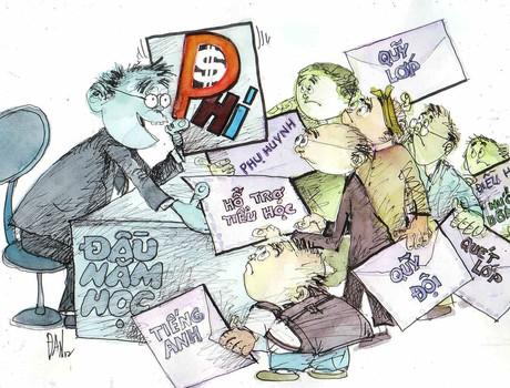 Lạm thu, thứ xấu xa được sinh ra từ lòng tham và sự vô cảm