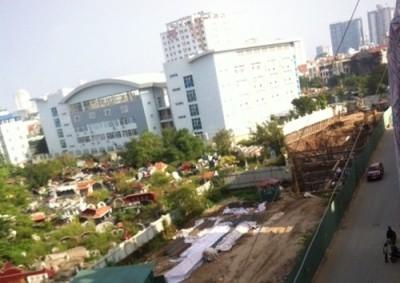 """Lình xình dự án chung cư """"siêu mỏng"""" cao 19 tầng tại quận Cầu Giấy"""