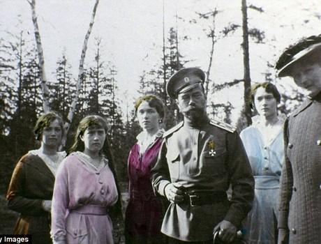 Công bố những bức ảnh hiếm của gia đình Sa hoàng cuối cùng tại Nga