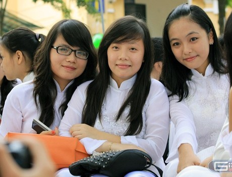 Học sinh cả 3 miền đều hát sai Quốc ca