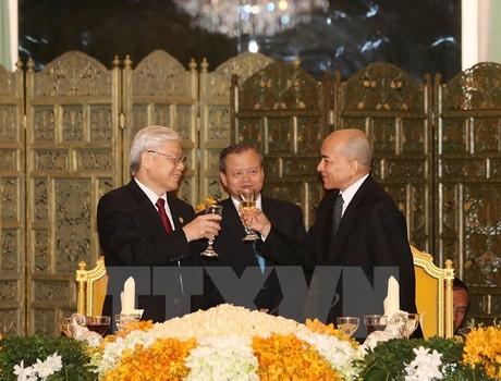Diễn văn Quốc yến của Quốc vương Campuchia