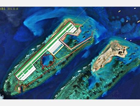 Bộ Quốc phòng Mỹ kêu gọi Trung Quốc chấm dứt mở rộng đảo Chữ Thập