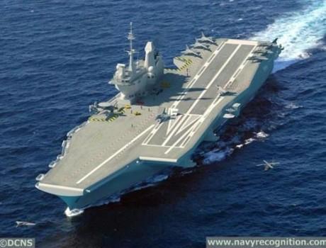 Ấn Độ đề nghị 4 nước thiết kế tàu sân bay, phương án Pháp công bố