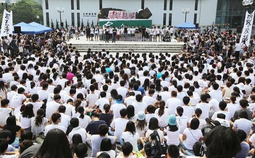 Sinh viên Hồng Kông bãi khóa phản đối cải cách bầu cử từ Bắc Kinh