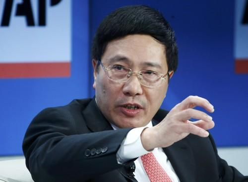 Phó Thủ tướng kiêm Bộ trưởng Ngoại giao Phạm Bình Minh, ảnh: Thanhnien News.