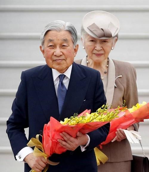 Nhà vua Nhật Bản Akihito và Hoàng hậu thăm chính thức Việt Nam