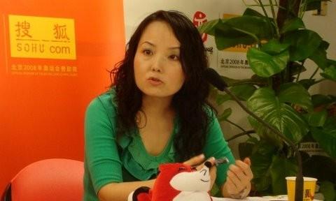 Bà Triệu Linh Mẫn, ảnh: Sohu.com.