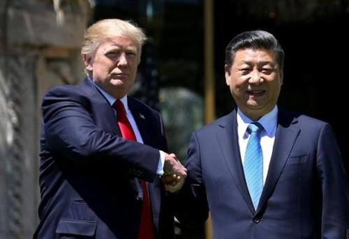 Tổng thống Mỹ Donald Trump và Chủ tịch Trung Quốc Tập Cận Bình tại Mar-a-Lago, Florida, ảnh: Al Jareeza.