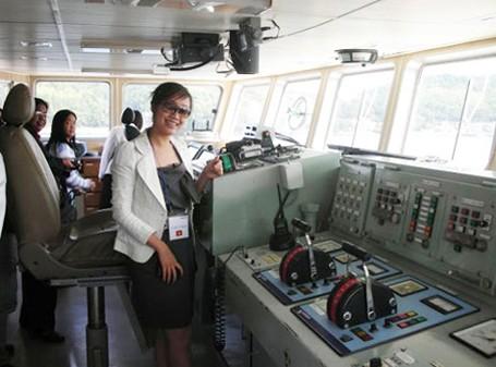 Chuẩn bị ra khơi (Viện Nghiên cứu biển Hàn Quốc).