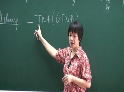 Tiến sỹ Văn học Trịnh Thu Tuyết - giáo viên Văn THPT Chu Văn An chia sẻ câu chuyện về nghề giáo.