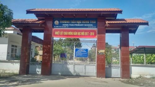Thu chi quá nhiều tại trường tiểu học Hồng Thái, lỗi tại hội phụ huynh?